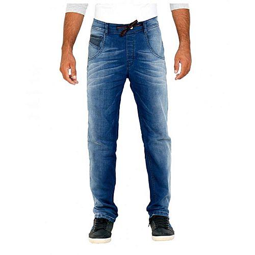 Asset Blue Twill Dark Wash Jeans - MD-029