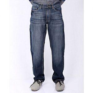 Asset Soft Yellow Stretch Denim Straight-Leg Jeans for Men Slim Fit Size: 32