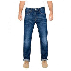 Asset Dark Blue Jeans For Men