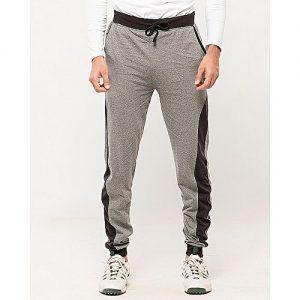 Aybeez Grey Cotton Trouser For Men MW1923