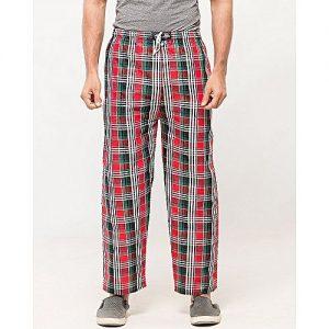 Aybeez Multicolour Cotton Checkered Trouser for Men MW1905