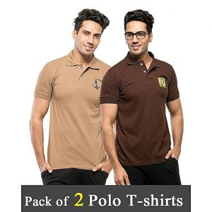 Aybeez Pack Of 2 Polo T-Shirt For Men - ABZ-2323