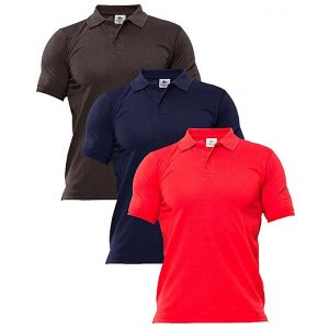Aybeez pack of 3 casual polo shirts