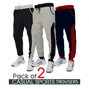 Aybeez Pack Of 3 Casual Sports Sweat Pants For Men MW1929