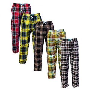 Aybeez Pack Of 5 Checkered High Quality Pajama Trousers MW1921