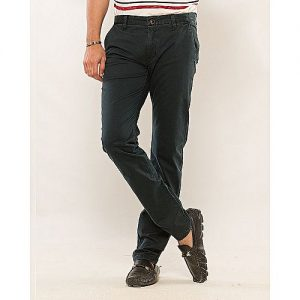 Chase Value Centre Navy Blue Cotton Chino Pants for Men MW1801