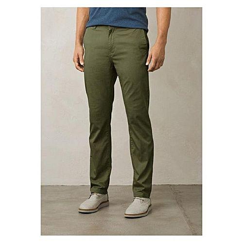a21ca971f02cb Noorani Green Cotton Chino Pants for Men MW1722 - Menswear.pk