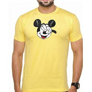 Aashi miCkey Men Half Sleeve Tee A1704-610