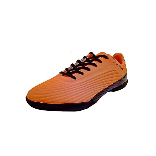 39d9f90bd3a3 Apollo Orange   Black Football Training Shoes for Men - 8BFGF7 MS 63 ...