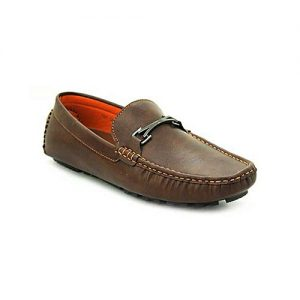 Bata Brown PVC Close Casual Shoes For Men BS043