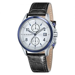 Cross Timepiece Watch for Men - Cross Helvetica Chronograph Watch Cr8023-01 MW 144