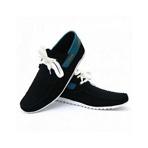 Daraz Shoes Black Sneakers For Men MS 193