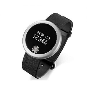 Daraz Watches BSS6 - Fitness Heart Rate Watch - Black & Silver MW 229