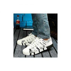 Fashionics Men's Sneakers - 456 - White MS 283