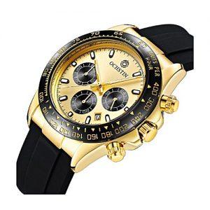 FORSINING Men Watch OCHSTIN Top Luxury Brand Designer Quartz-watch MW 304