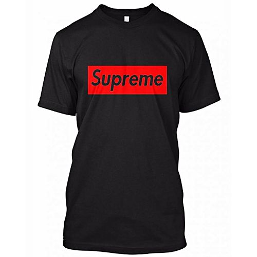 5b380e709adf Hashtag Youthseries SUPREME COTTON PRINTED T-SHIRT For Men HY 245 ...