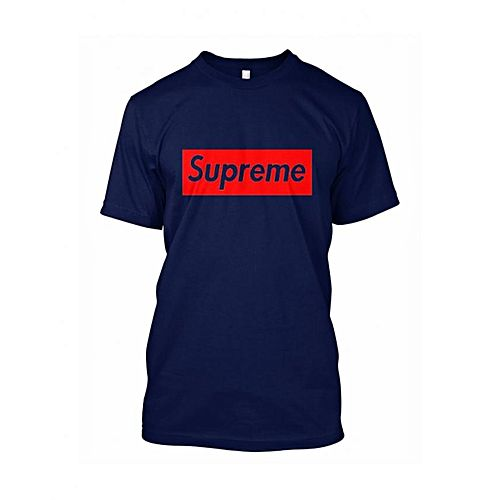934dd0172fc1 Hashtag Youthseries SUPREME COTTON PRINTED T-SHIRT For Men HY 368 ...