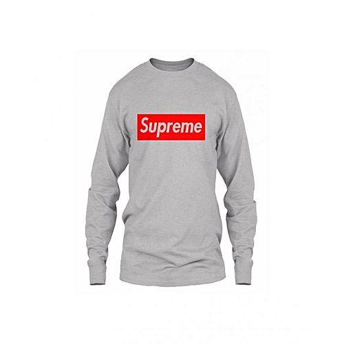 758876dbd Hashtag Youthseries Supreme Cotton Round Neck Full sleeves T-Shirt For Men  HY 489