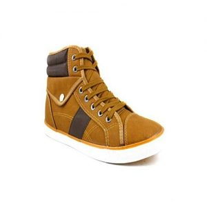 Luckydealspk Mustard - Artificial Leather Sneakers For Men MS 430