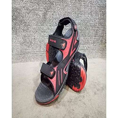 722e34377a3764 Mardan Shoes Black Rubber Sports Sandal For Men MS 437 - Menswear.pk