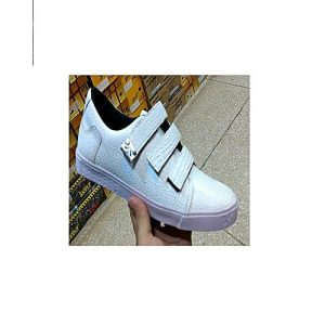 Mardan Shoes White Canvas Stylish Sneakers For Men MS 446