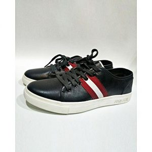 MNcollection Black & White Fashion Sneakers For Men MS 530
