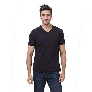 Royal Collection Pakistan Black Cotton T-Shirt For Men RCP 365