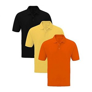 Royal Collection Pakistan Pack of 3 - Multicolor Cotton Half Sleeve Polo T-Shirts For Men RCP 414