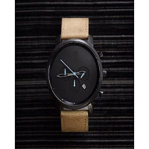 Shah traders Black & Brown Stylish Watch For Men With Date MW 707