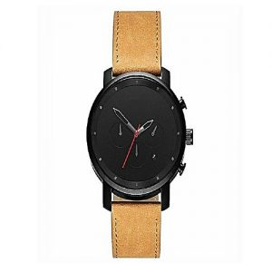 Shah traders Black & Brown Stylish Watch For Men With Date MW 728