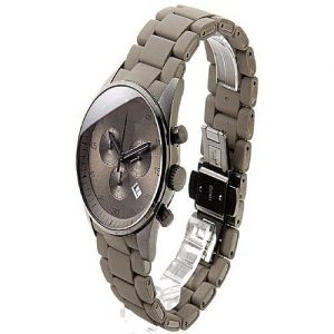 Shah traders Grey Stylish Chronograph Watch With Date For Men MW 726