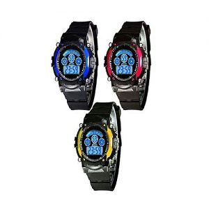 Shah traders Pack of 3 - Sports Digital Watch for kids MW 733