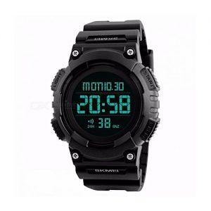 SKMEI 1248 - Waterproof Men's Digital Sports Watch - 50m - Black MW 767