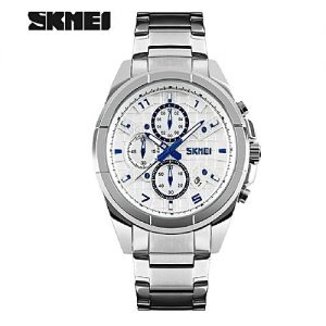 SKMEI Chronographic Stainless Steel Luxury Relogio Masculino Men Watch MW 774