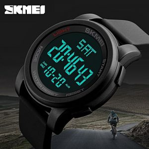 SKMEI Top Luxury Brand Men's Sports Watches Chrono Countdown Men LED Digital Watches Man Military Wristwatches Relogio Masculino MW 762