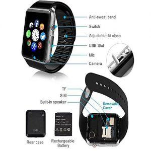 Smart Watch D-watch Waterproof Sports Health Bluetooth Smart Watch MW 788
