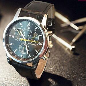 SOXY Brown Chronograph Wristwatch For Men MW 804