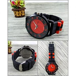 Styleo Black Stylish Watch For Men MW 806