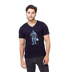 Styleo Robbot Printed T-Shirt for Men S1804-203