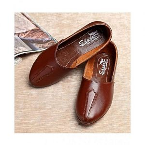 The smart shop Brown Synthetic Shoes For Men MS 771