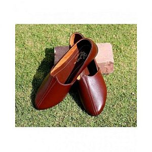 The smart shop Brown Synthetic Shoes For Men MS 772