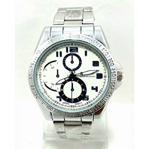 Time collection Silver Chain Watch For Men MW 859