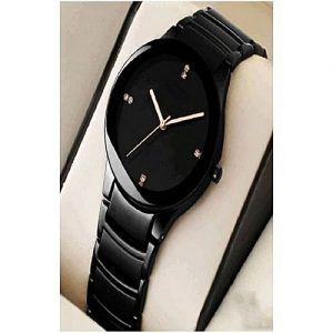 Wear Bank Black Stainless Steel Watch Just For Men MW 964