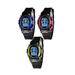 Wear Bank Pack of 3 - Sports Digital Watch for kids MW 943