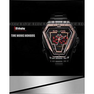 Weide LED Analog Display Digital Sports Military Watch MW 970