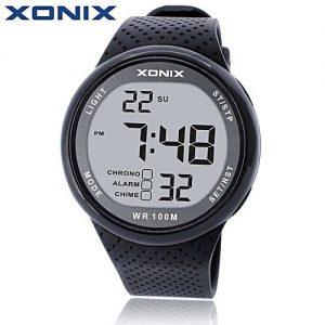XONIX Grey Waterproof 100M Outdoor Digital Watch MW 977