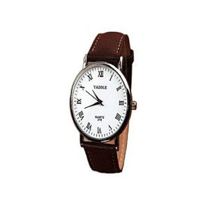 Yazole Quartz Luxury Yazole Wrist Watch For Mens - Brown MW 985