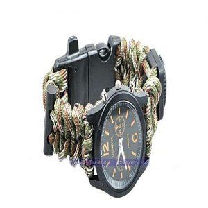 Yuzex Bracelet Compass Wrist Watch Yuzex Exponi - Brown MW 992