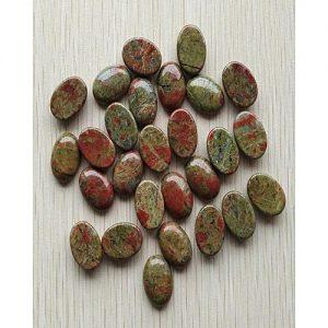 Blue Stone Blood Stone Gemstone MA 371