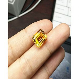 Blue Stone Natural Brazial Citrine MA 367